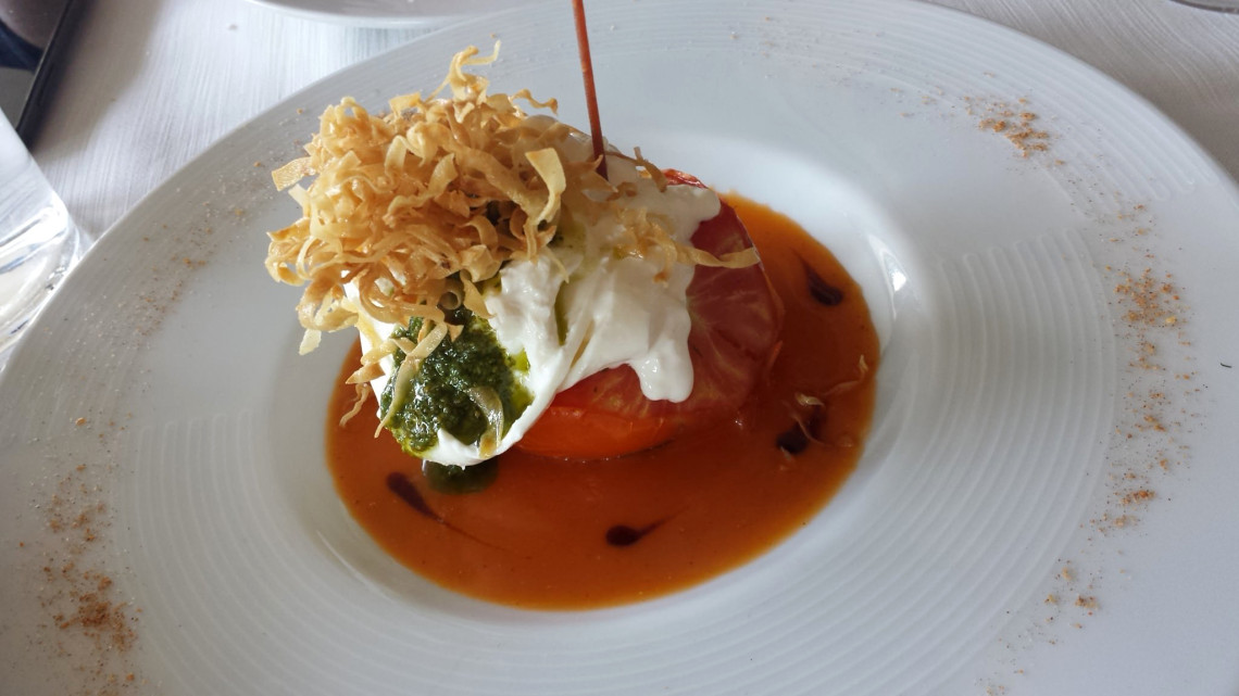 Burrata at Al Salisa
