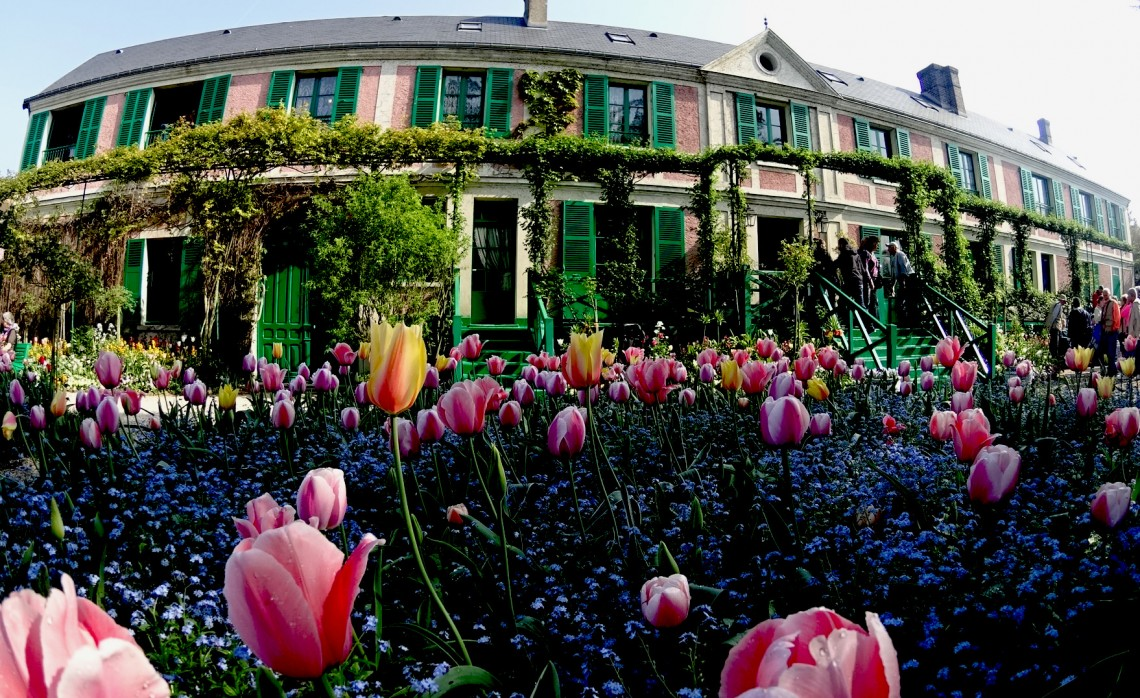 Monet's House in Giverny, France.