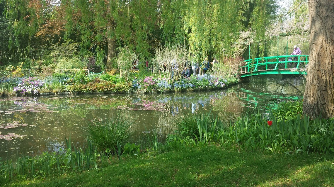 Japanese Bridge, Monet Garden Giverny France