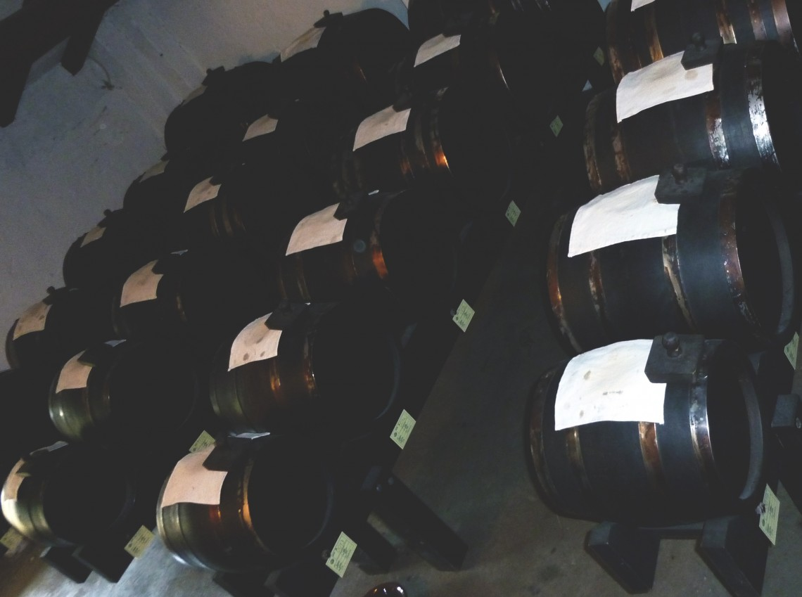 Batteria Aceto Balsamico di Modena, Traditional Balsamic Vinegar Casks