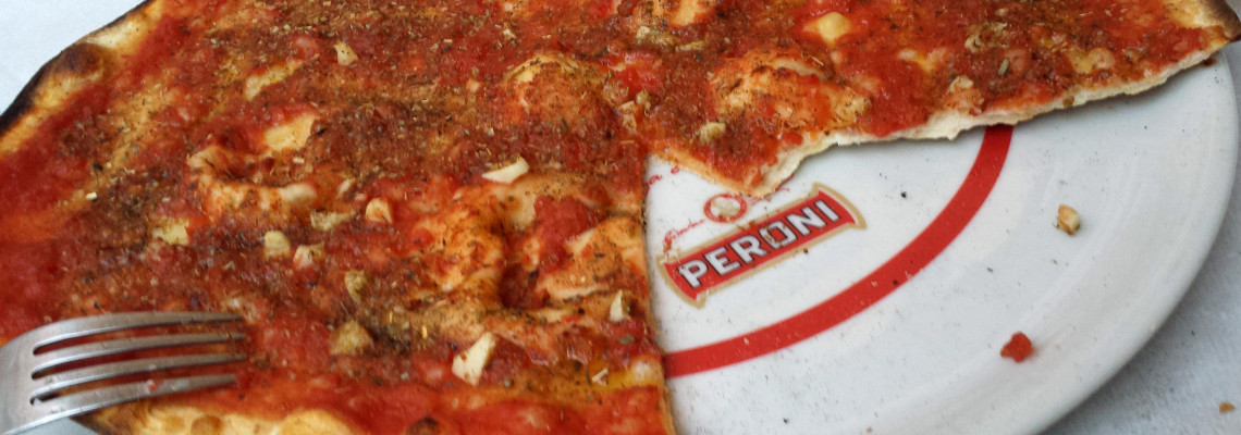 Marinara Pizza Says It All