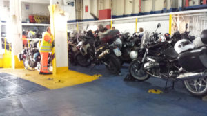 Motorcycle Italy Croatia Ferry