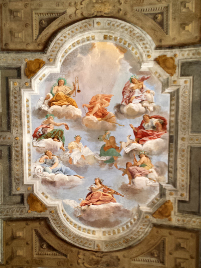 Colonna Frescoes Palace Sassaulo