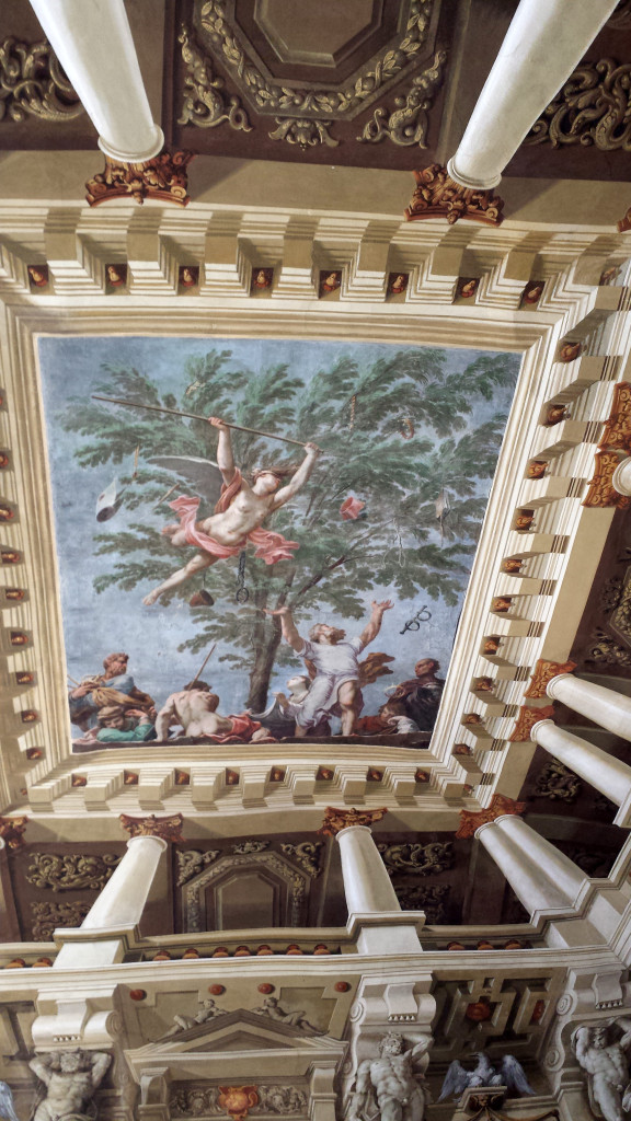 Frescoes at the Sassuolo Palace in Italy