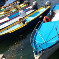 Journey for Art Fishing Boats on Lake Garda Italy
